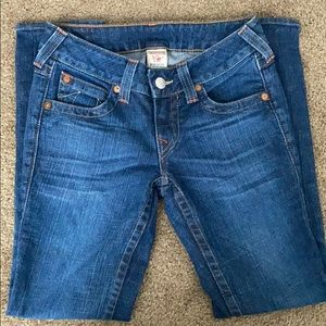 True Religion Jeans - size 27, Becky fit